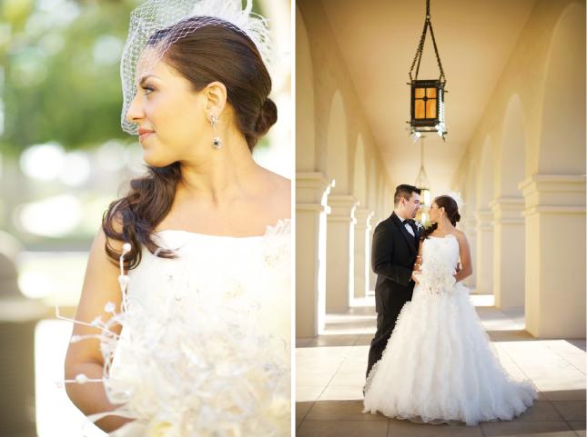 Modern Arizona Wedding