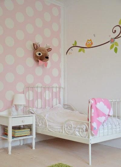Ideas para decorar habitaci n infantil en rosa y blanco - Habitacion infantil rosa ...
