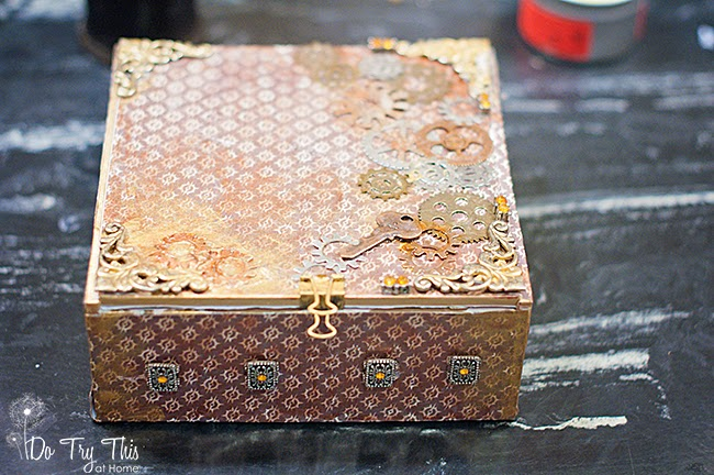 Almost Steam Punk Cigar Box: Do Try This at Home