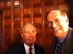 Got a Chance to Thank Mayor Bloomberg for His Work on Pension Reform