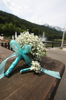 Brautstrauß aus Schleierkraut - Babies breath bouquet