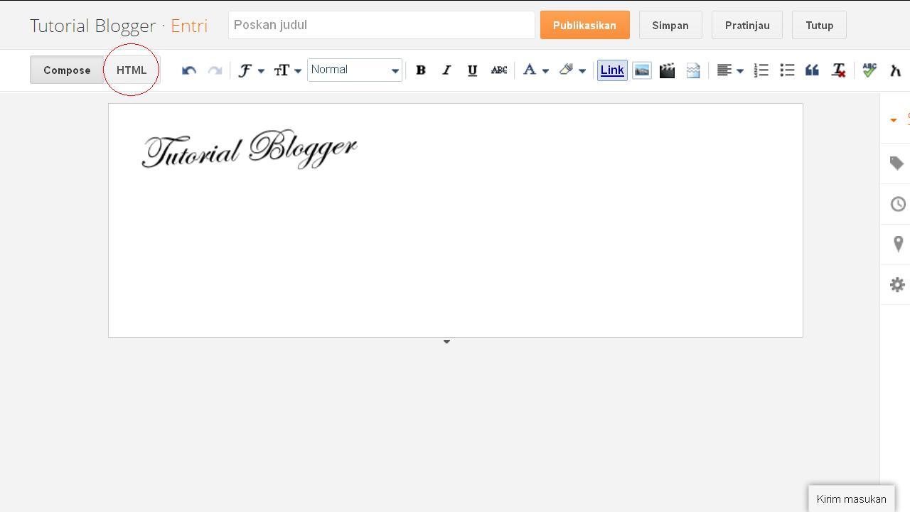Kumpulan Tutorial | Aksesoris Blog | Dasar dasar Blog | Gadget Blog | Template Blog