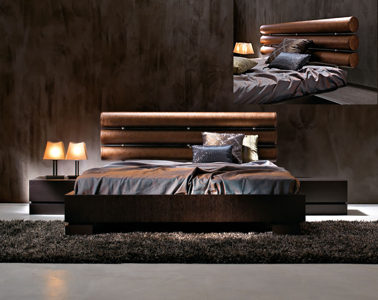 Furniture design ideas modern italian bedroom furniture ideas for Wooden bed interior design