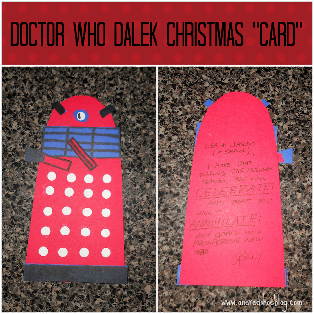 Holiday greetings for the Whovian in all of us