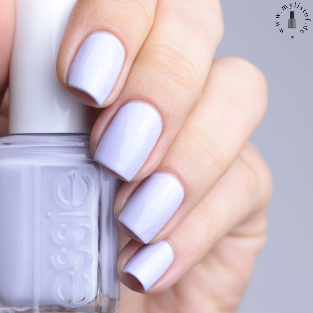 Essie Virgin Snow Winter 2015 LE Swatch