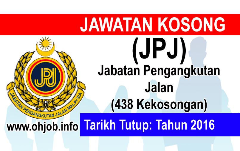 Jawatan Kerja Kosong Jabatan Pengangkutan Jalan (JPJ) logo www.ohjob.info januari 2016