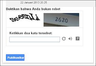 Blogger atau blogspot telah mengupdate tampilan tombol komentar warna biru