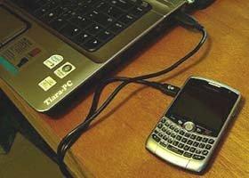 Setting-Blackberry-Modem