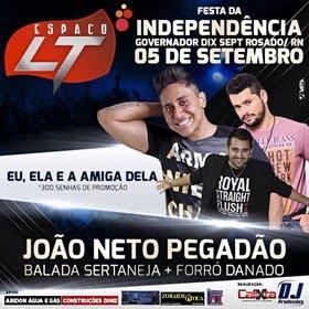 Dia 05 de Setembro tem a Festa da Independência em Governador Dix Sept Rosado/RN