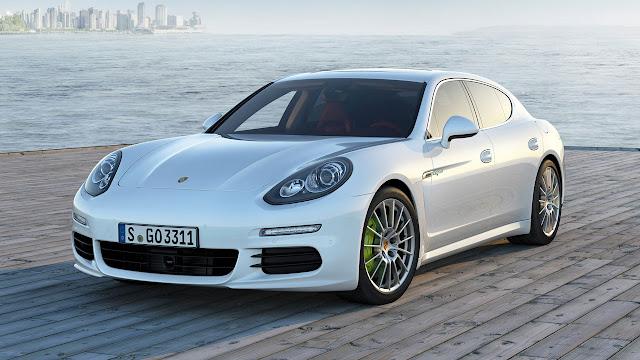 Porsche Panamera with Plug-in Hybrid drive