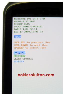 How to Reset HTC Google Nexus One | GSM Mobile Phone Hard ...