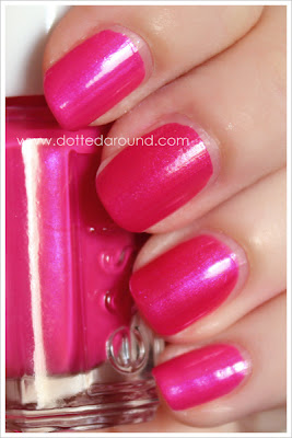 Essie Spring 2012 Tour de Finance swatches comparison nail polish, Super Bossa Nova, Kiko