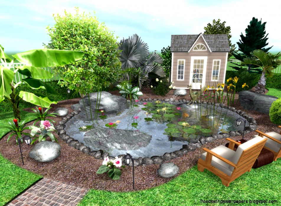 Best 3d Garden Design : Garden landscape design software wallpaper free best hd
