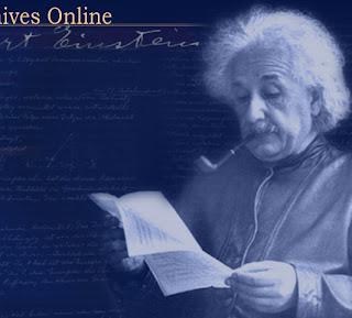 A. Einstein. Archivos científicos y personales.