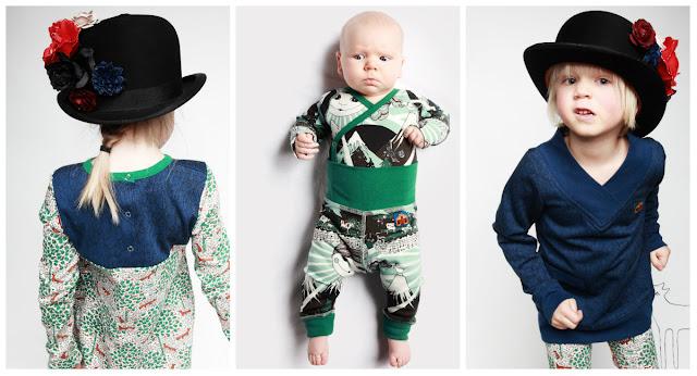 odzież dziecięca w stylu skandynawskim