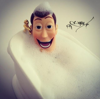 woody bath time