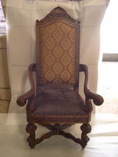 Mahogany Reproduction Chair