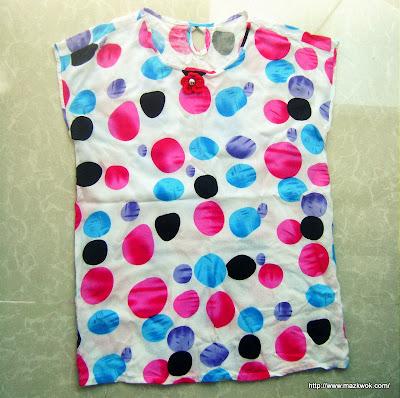 short kimono sleeve top