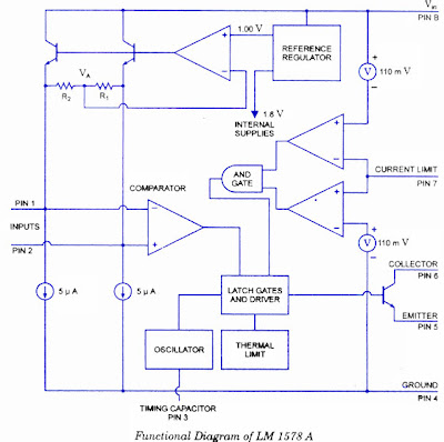 LM1758 A Switching Regulator Circuit