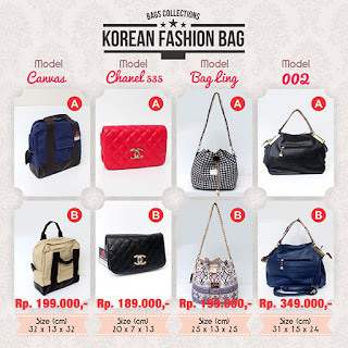 Tas Fashion Korea