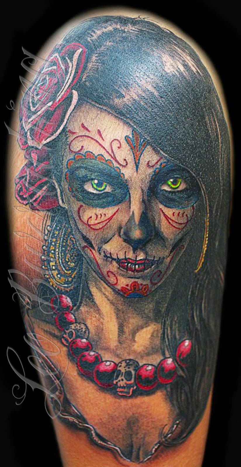 Great Catrina Tattoos