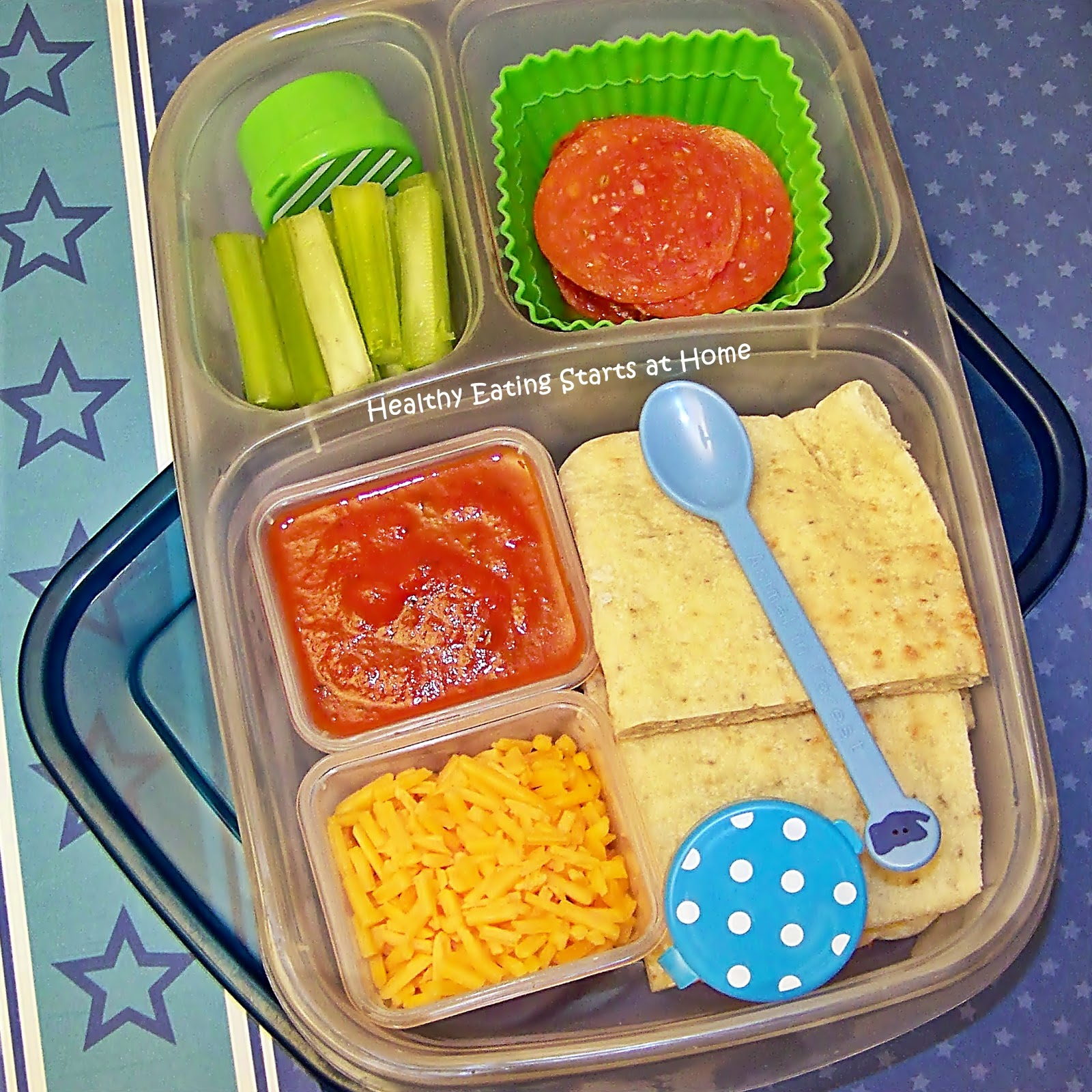 Healthy eating starts at home school lunches pepperoni for Easy diy lunches