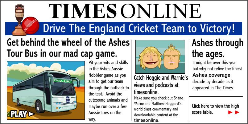 Truck Game : Ashes Aussie Nobbler