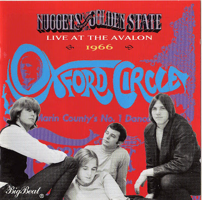Oxford Circle - Live At The Avalon 1966 (great us psychedelic blues - wave)