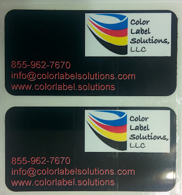 C7500 Full-Bleed Black Labels