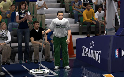 NBA 2K13 Utah Jazz Improved Janitor Patch