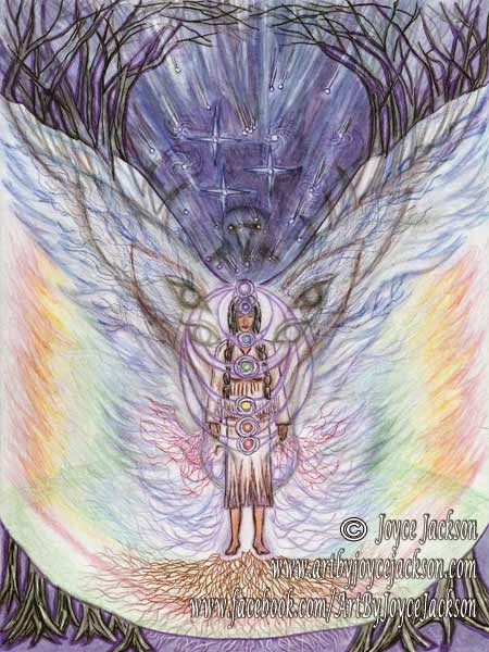 Sahasrara Silence by Enchanted Visions Artist, Joyce Jackson
