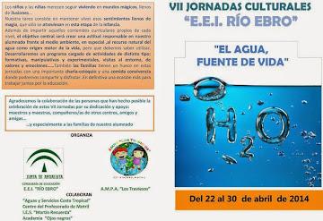 "VII Jornadas Culturales ""El agua fuente de vida"" E.E.I Rio Ebro."