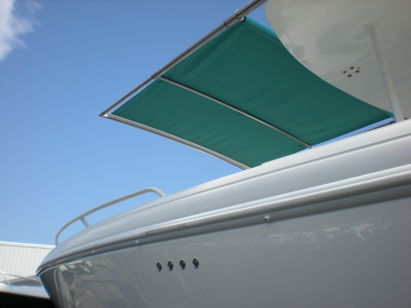 Top center console boat brands are recognizing that boaters want more shade ...