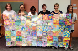 A class with the Dot Quilt