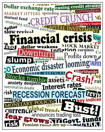 recession in usa The history of recessions in the united states since the great depression show they are a natural, though painful, part of the business cyclethe national bureau of economic research defines when a recession starts.