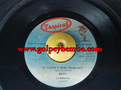 45 Rpm Dedy ( Bobby Quesada ) - Side B