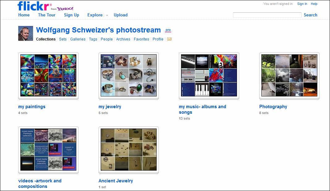 My flickr-account-click image (actual account will look different from screenshot-picture here)