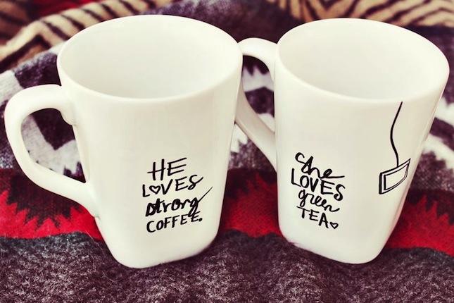 labels diy mugs