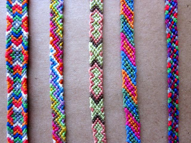 Friendship Bracelet Free Pattern4
