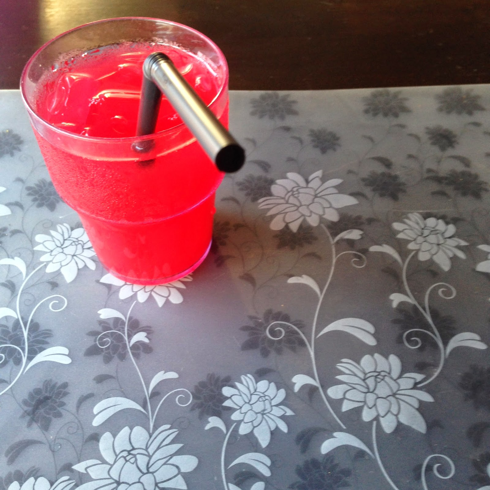 Ridel Hotel's welcome drink at Shark Lounge