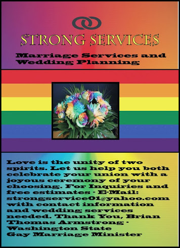 Washington State Gay Marriage Services and Planning