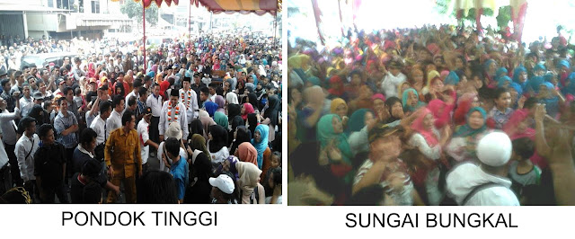 Kampanye Fesbuker di Sungai Bungkal dan Pondok Tinggi, Bukti Kekuatan Massa Militan