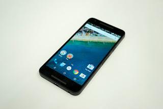 Tampilan layar LG Nexus 5x