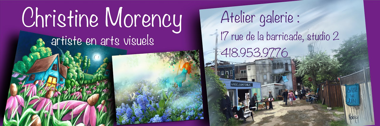Christine Morency artiste peintre