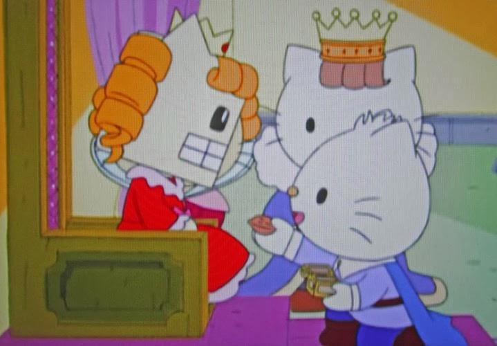 C 39 est trop bien hello kitty dans le d but de casse for Miroir brise conjurer sort
