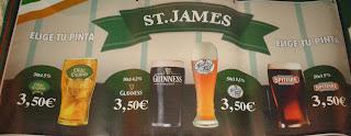 Precios de cervezas de barril