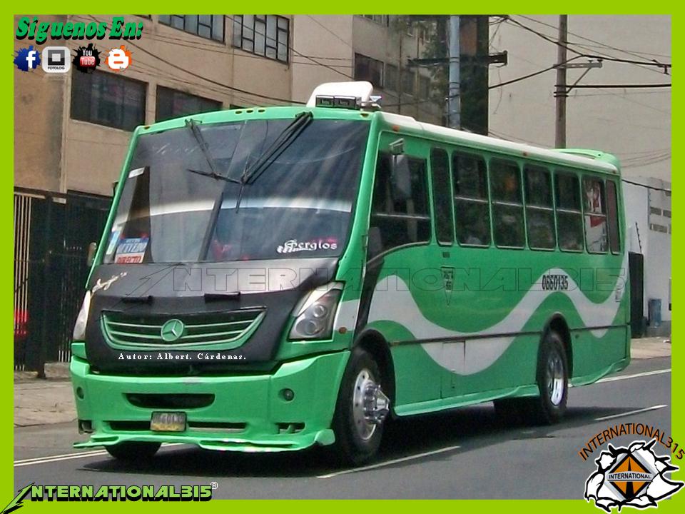 International 315 ruta 66 mercedes benz ayco zafiro sport for International mercedes benz