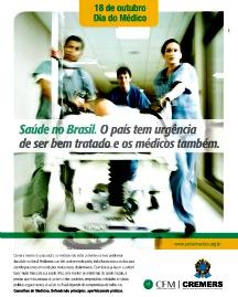 Dia do Médico, entidades lançam um alerta