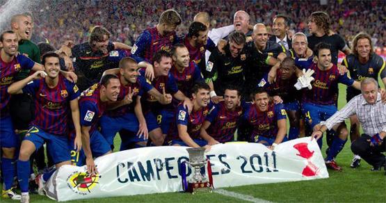 FC Barcelona campeón de la Supercopa de España 2011