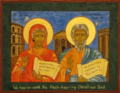 Icon of Junia and Andronicus